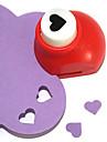 motif de coeur mini metallique de l\'outil de coupe bricolage poincon (couleur aleatoire)