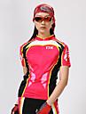 MYSENLAN® Cykeltröja med shorts Dam Kort ärm CykelAndningsfunktion / Snabb tork / Ultraviolet Resistant / Fuktgenomtränglighet / Hög