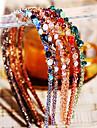 multicolore de moda de cristal neregulate hairbands decorare (1 buc) (mai mult de culoare)