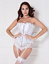 raso unico con corsetti chiusura pizzo senza spalline davanti busk shapewear sexy lingerie shaper
