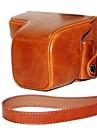 piele dengpin® caz de protecție aparat de fotografiat sac capac ulei de piele cu curea de umar pentru Sony NEX-6 nex6
