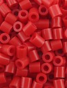 ca 500st / väska 5mm röd Perler pärlor säkrings pärlor Hama Pärlor DIY sticksåg eva material safty för barn