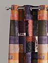 Deux Panneaux Le traitement de fenetre Designer Chambre a coucher Polyester Materiel Rideaux Tentures Decoration d\'interieur For Fenetre