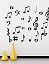 väggdekorationer väggdekaler, musik pvc väggdekorationer