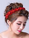 Women\'s Alloy/Cubic Zirconia Headpiece - Wedding/Special Occasion Flowers/Wreaths