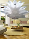 Pendant Light in Lily Featured shade PVC 220-240V