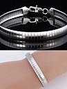 nouvelles grandes bracelet bracelet chaine serpent en acier 316L titane fraiches de haute qualite