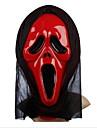 skriker pvc knepigt halloween mask (slumpvis färg)