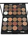 15 Palette Fard a paupieres Sec Palette Fard a paupieres Poudre Ordinaire Maquillage Smoky-Eye Maquillage Quotidien