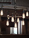 MAX 40W Lampe suspendue ,  Traditionnel/Classique / Vintage / Retro / Lanterne / Rustique Peintures Fonctionnalite for Style mini Metal