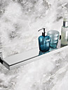 Bathroom Shelves,Contemporary Mirror Polished Finish Stainless Steel Material Glass Shelf,Bathroom Accessory