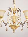 Max 60W Traditionnel/Classique Cristal Peintures Lustre Salle de sejour / Chambre a coucher / Salle a manger