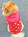 Cat / Dog Hoodie / Clothes/Clothing Rose Winter Hearts Wedding / Cosplay