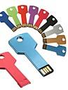 16GB nyckel formad metall USB-minnen