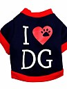 DG Pattern Fleeces Hoodies T-Shirt for Dogs(Assorted Sizes)
