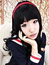 Cardcaptor Sakura daidouji tomoyo lockig cosplay peruk