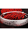 elegant bracelet en argent a motif chance de WEIMEI femmes