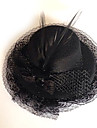 Bijoux Gothique Coiffure Lolita Noir Lolita Accessoires Casque Couleur Pleine Pour Hommes / Femme Polyester