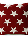 stjärnor bomull / linne dekorativa örngott