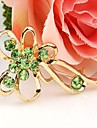 Beautiful Alloy And Rhinestone Brooches (Random Color)