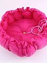 mjuk plysch dragsko trumpet pumpa boet husdjur kudde säng katteri kennel för hund katt små