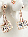 ZGTS 18k Gold Studded with Diamonds  Earrings