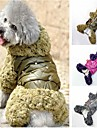 Elegent Furry High Gloss Jumpsuit for Pet Dogs (Assorted Colors,Assorted Sizes)