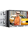 "Windows CE 6.0 7 ""2-DIN motorizada touch screen carro dvd player com bluetooth, ipod, swc, ATV (7258)"