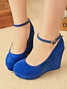 Women\'s Shoes Round Toe Wedge Heel Pumps Shoes More Colors available