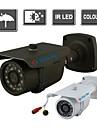 yanse® ir färg CCTV kameran vattentät syn säkerhet utomhus kameror 24-ledda 1000tvl 867cf