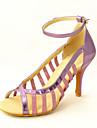 """Scarpe da ballo - Disponibile """"su misura"""" - Donna - Latinoamericano / Sala da ballo - Stiletto - Eco-pelle - Nero"""