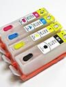 permanente puce 920bk 920c 920m 920y cartouche d\'encre rechargeable pour HP Officejet 6500A 6000 6500 7000 7500 7500a