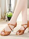 Sandale femei latin lui Stiletto toc pantofi de dans satin stilet toc (mai multe culori)