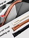 lebosh ™ pu läder bilsäte slot plug läckagesäker skyddsfodral (2st)