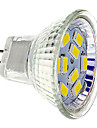 4W GU4(MR11) Spot LED 9 SMD 5730 430 lm Blanc Chaud / Blanc Froid DC 12 V