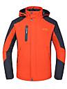 Homme Anorak pour Ski/snowboard Veste d\'Hiver Ski Camping / Randonnee Escalade Patinage Sports de neige Etanche Respirable Pare-vent Isole