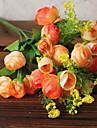 Une succursale Plastique Fil Camelia Fleur de Table Fleurs artificielles 29 x 14 x 3(11.42\'\' x 5.51\'\' x 1.18\'\')