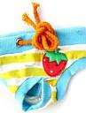 Hundar Byxa Röd / Blå / Rosa Hundkläder Vår/Höst Frukt Cosplay