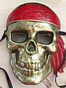 Masque Pirate Fete / Celebration Deguisement Halloween Marron Imprime Masque Halloween / Carnaval / Nouvel an Unisexe PVC