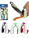 New Safe Slice Non Slip Soft Grip Knife Guard Finger Protector Cover Cut Vegetable Protector Random Color