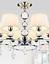 40w Ljuskronor ,  Modern Krom Särdrag for Kristall Metall Bedroom / Dining Room / Sovrum / Studierum/Kontor