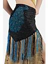 danza del vientre estilo tribal print peafowl borla de cadena de la cintura triangular / chales (mas colores)