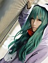 Cosplay Wigs Kagerou Project Saori Kido Green Medium Anime/ Video Games Cosplay Wigs 65 CM Heat Resistant Fiber Female
