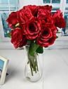 style europeen blanc rouge rose ouverte rose artificielle 2 pieces / lot 15,75 «tige pour la decoration de mariage