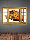 3d stickers muraux stickers muraux, peinture originale fraiche voitures decor muraux en vinyle autocollants