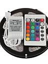 ZDM ™ 5m 300x3528 SMD RGB LED strip ljus med 24key fjärrkontroll (12V)