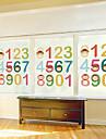 "60 * 80cm (24 ""w * 31"" l) glas filmen - bebis lära digitala"