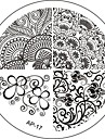 Nail Art Stamp Stamping Image Template Plate AP Series NO.17