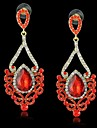 New pendientes Fashion India Style Crystal and Rhinestone Drop Earrings for Women Jewelry Earring (More Colors)