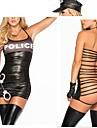Cosplay Kostymer/Dräkter Polis Festival/Högtid Halloween Kostymer Ihålig Klänning / Handskar / Hattar Halloween / Karnival / Nyår Kvinna